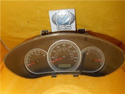 08 subaru impreza speedometer instrument cluster dash panel gauges rh ebay com
