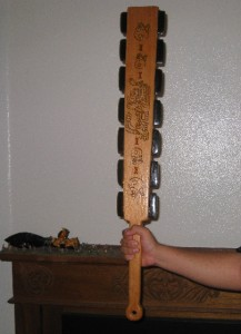 AZTEC SWORD, MAYAN WAR CLUB,MACUAHUITL, OBSIDIAN SWORD | eBay  AZTEC SWORD, MA...