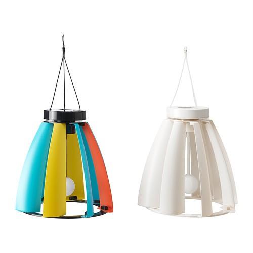 ikea solar wind powered pendant light lighting brand new ebay. Black Bedroom Furniture Sets. Home Design Ideas