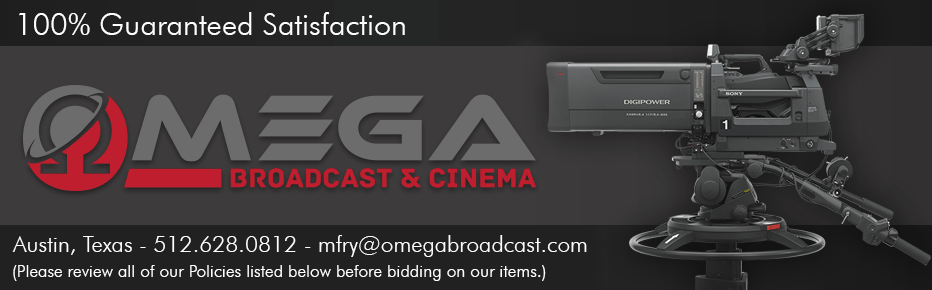 Omega Broadcast & Cinema