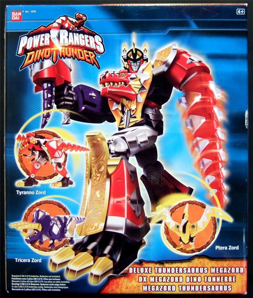 Speelgoedfiguurtjes Power Rangers Dino Thunder Morpher Brachio