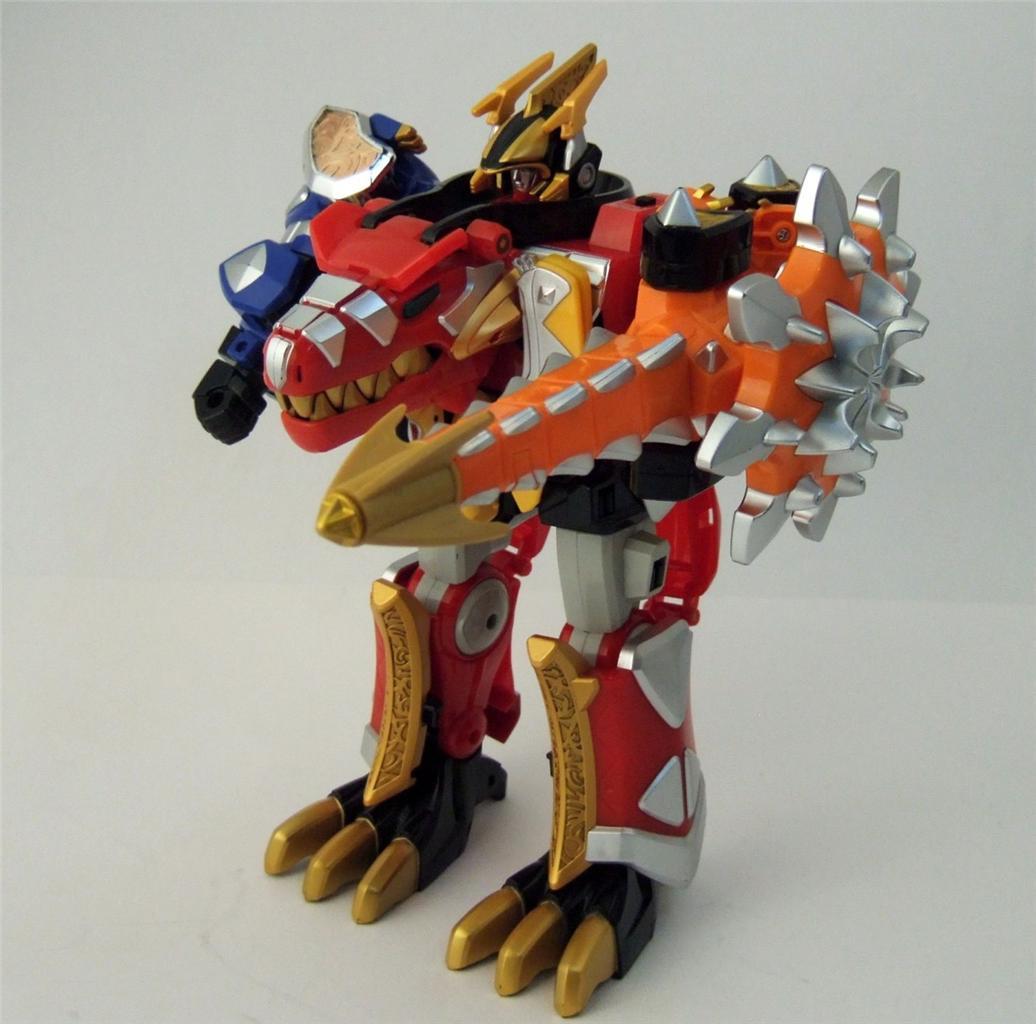 Thundersaurus megazord toy