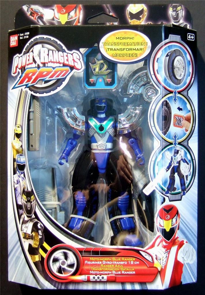 Power Rangers RPM Moto Morph Ranger / Zord Action Figure ...