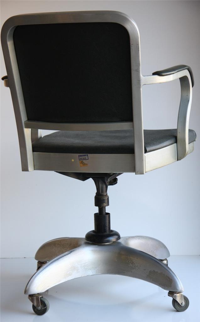 Machine Age Goodform Good Form Emeco Office Chair Aluminum