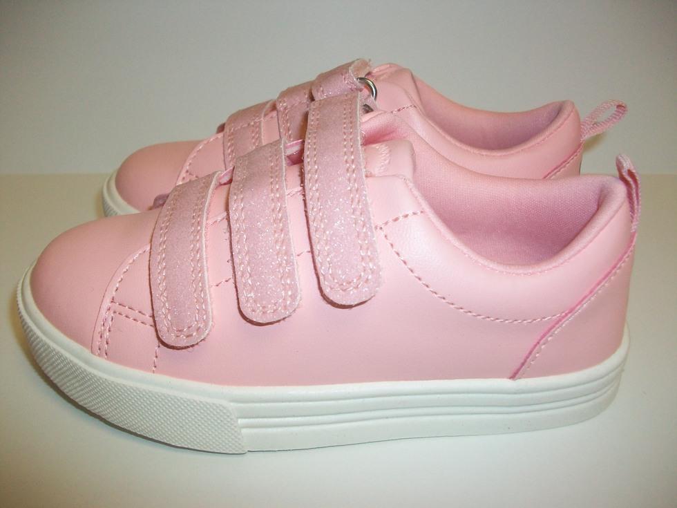 Girls Osh Kosh B'gosh Pink Luana Sneakers Toddler Size 8 M