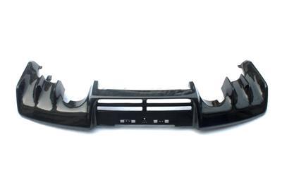 carbon rear diffuser fit for 08 12 mitsubishi lancer evo x. Black Bedroom Furniture Sets. Home Design Ideas