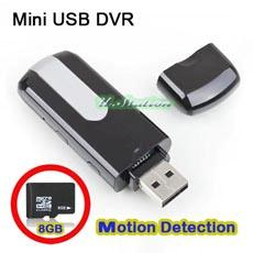 U10 Spy Wireless USB Flash Drive DVR Hidden Surveillance Camera