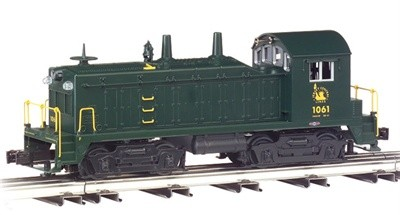 O Gauge-Williams-Traditional Line-21622-NW-2 Switcher Loco-Jersey Central  1061