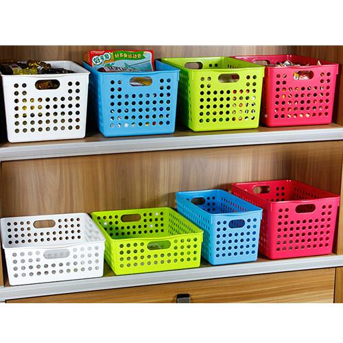 Truyoo Multi Purpose Plastic Handy Fruit Vegetable Basket Kitchen Office Storage Tidy Organiser 4 Models