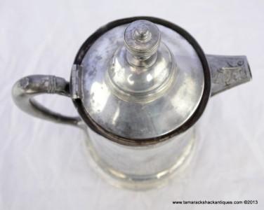 1880s Derby Stover Quadruple Silver Plate Victorian Server
