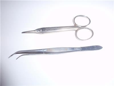 Details about 2 Vintage Surgical/Dental Instruments, by Pfingst & Union  Dental Cos  of Germany