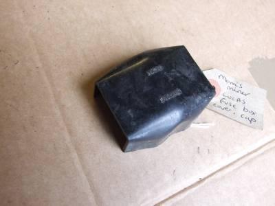 morris minor 1000 and traveller lucas fuse box cover cap ... morris minor fuse box morris minor wiring harness