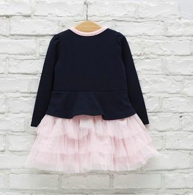 Ruffle Baby Girls Tutu Pincess Skirt Wedding Party Formal Kids Dress 5 6Y Gifts
