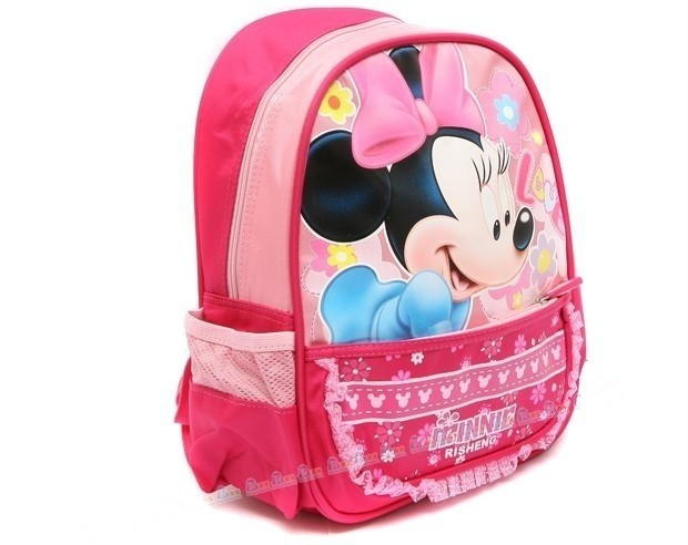 New Toddlers Kids Boys Girls Minnie Mouse Schoolbag Backpack Travelling Bag