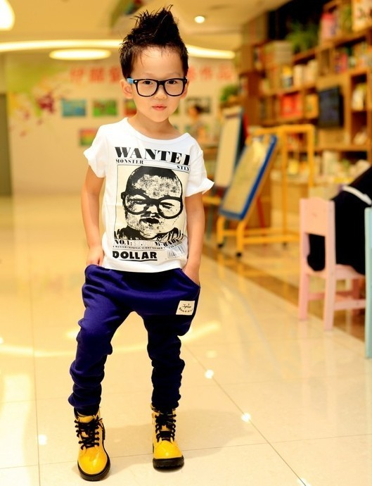 Hot Trendy Toddler Kids Boys Girls Candy Color Harem Pants Unisex Trousers 2 7Y
