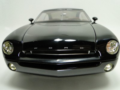 Black Custom Chopped Hot Rod Ford Concept/Show Future Car 118