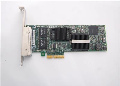 Details about Dell Intel Pro/1000 VT Quad Port Gigabit Ethernet PCI-E x4  YT674 Server Adapter