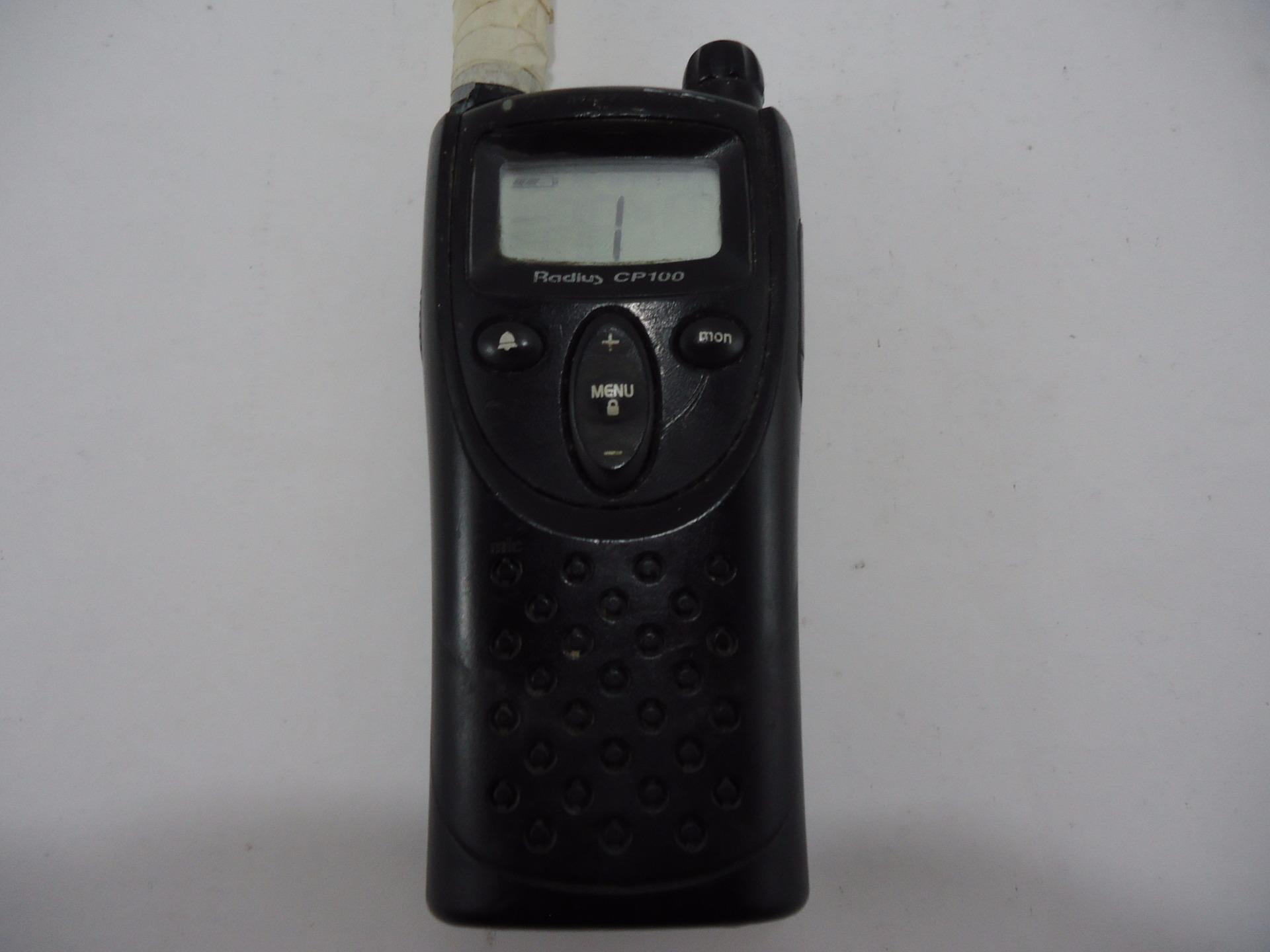 Details about Motorola Radius CP100 2-Way 1-Channel VHF 27 Frequency Radio