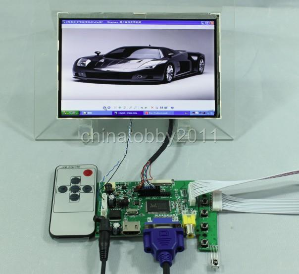 7inch HDMI monitor kit HSD070PWW1-C00 690cd/m2 for PS2 PS3