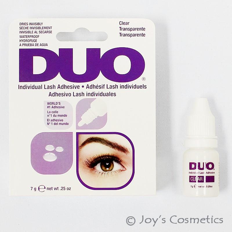1 Duo Individual Lash Adhesive Waterproof Eyelash Glue Clear Joys