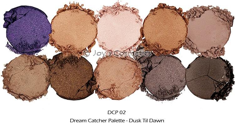 40 NYX Limited Dream Catcher Palette DCP 40 Dusk Til Dawn Joy's New Nyx Cosmetics Dream Catcher Palette