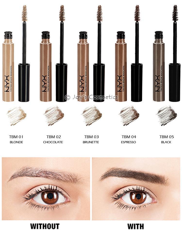 1 Nyx Tinted Brow Mascara Eyebrow Tbm Pick Your 1 Color Joys
