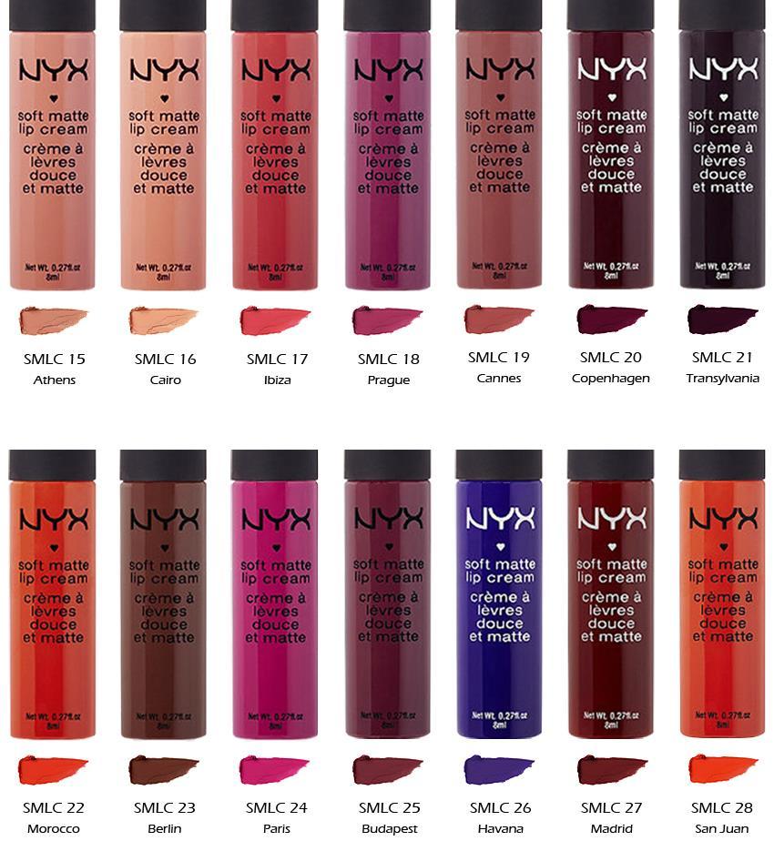 """2 NYX Soft Matte Lip Cream - SMLC """"Pick Your 2 Color"""" *Joy ..."""