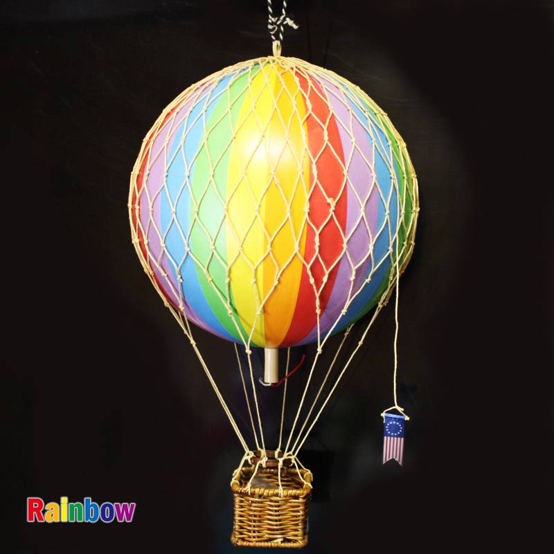 Medium 18 CM Home Decor Authentic Models Hot Air Balloon