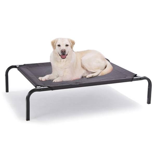 110 x 85 CM Large Elevated Pet Dog Bed Raised Heavy Duty