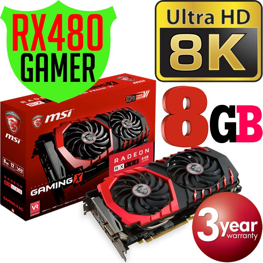 Msi radeon rx 480 gaming x 8gb driver