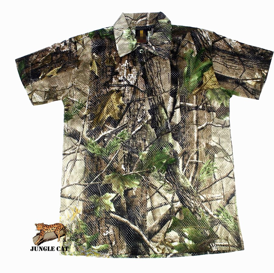 bd967daf New Realtree APG/HD/Mossy Oak BreakUp Camo Men's Polo Shirt ...