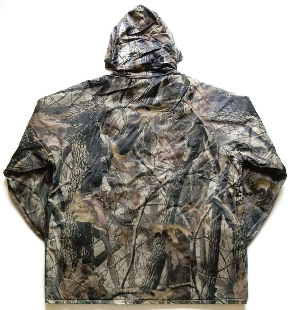 New Stearns Fleece Lined Rain Jacket Coat Realtree