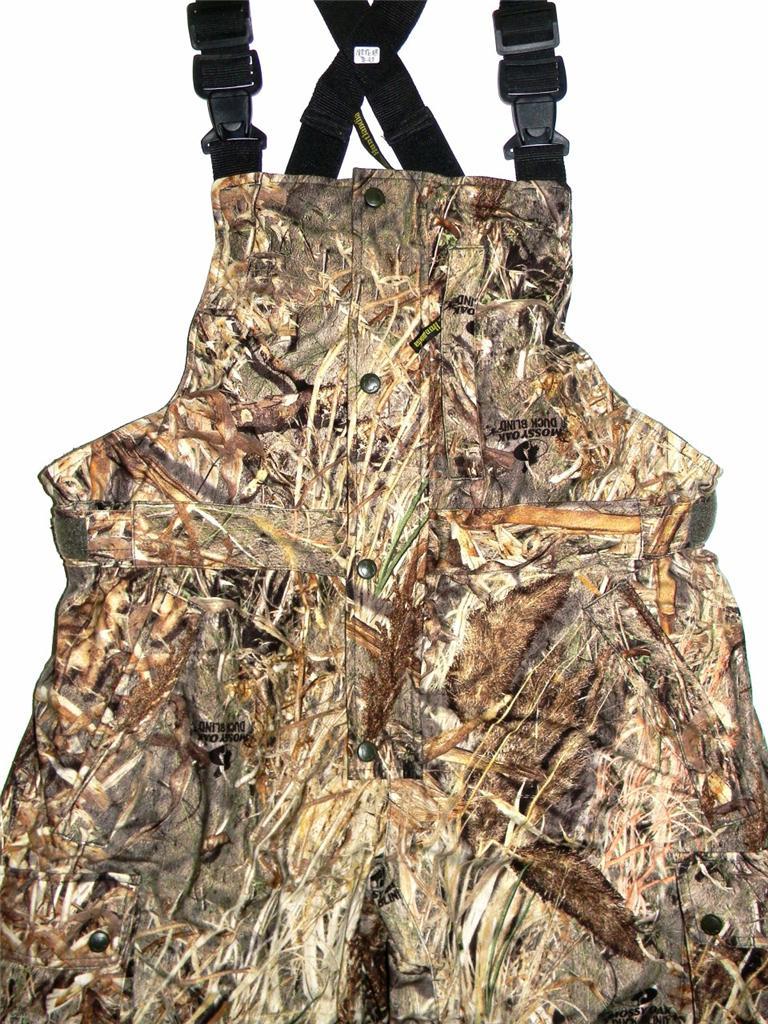 New Huntlandia Camouflage Insulated Hunting Bib Pants