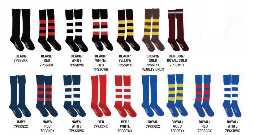 Team Podium Socks Club Football AFL Rugby League NRL Footy