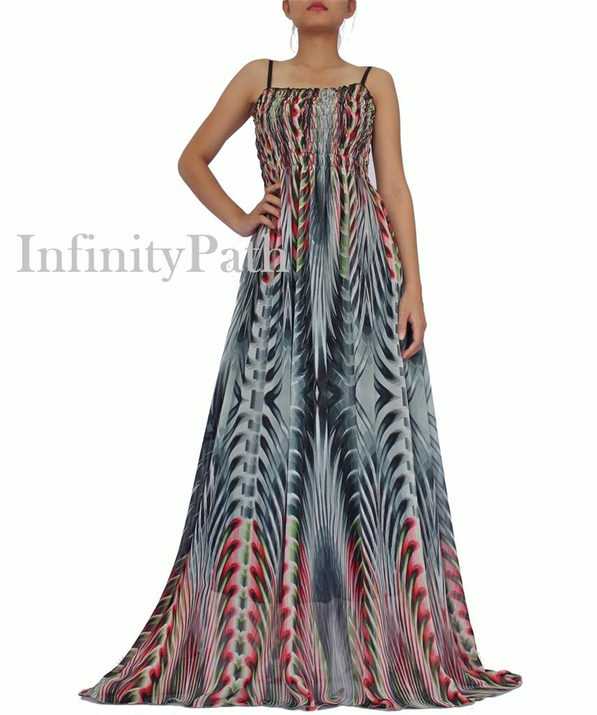 From eye-popping prints that are boardwalk-ready to stunning long chiffon dresses made for weddings, dressbarn's plus size maxi dresses are sure to impress. Don't forget to accessorize! Dress up your maxi with a bold pair of statement earrings and wedges.