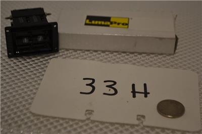 ONE NEW PACKAGE OF 10 LUMAPRO MINIATURE LAMPS 2FMR1.