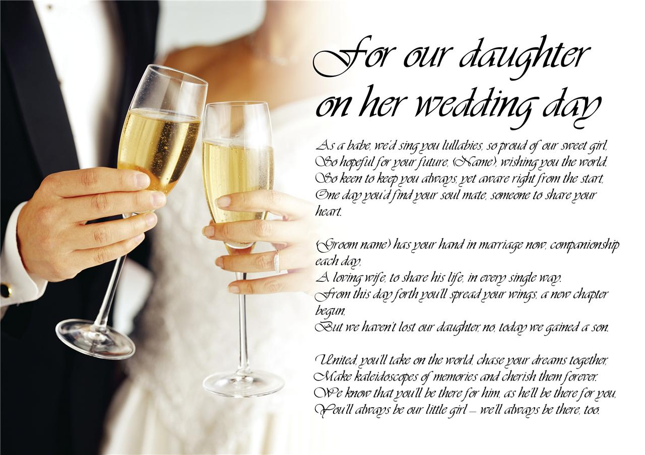 Wedding Day Poems From Mother To Daughter