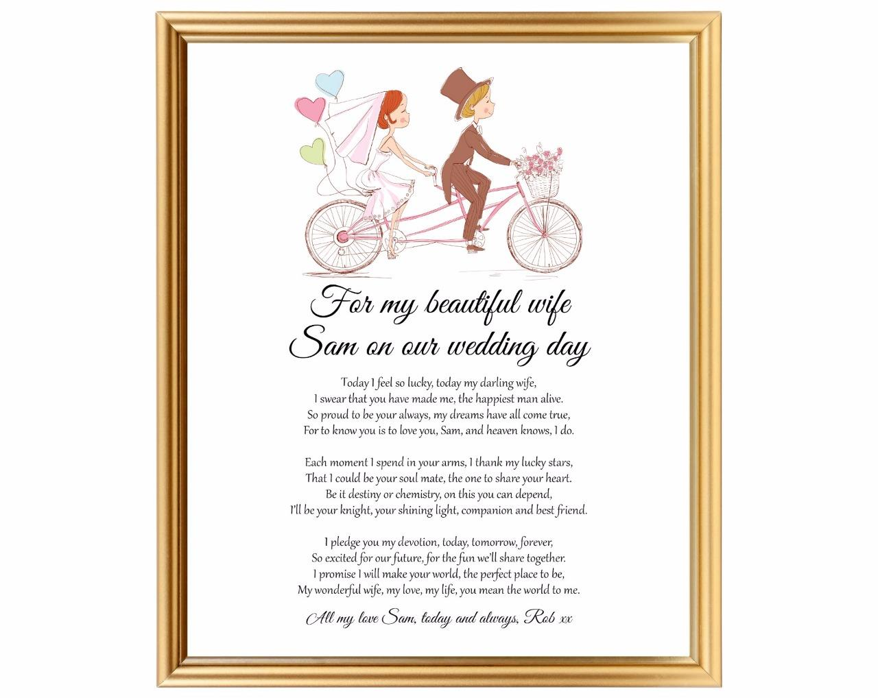 Wedding Day Gift For Wife: Wedding Gift For Wife