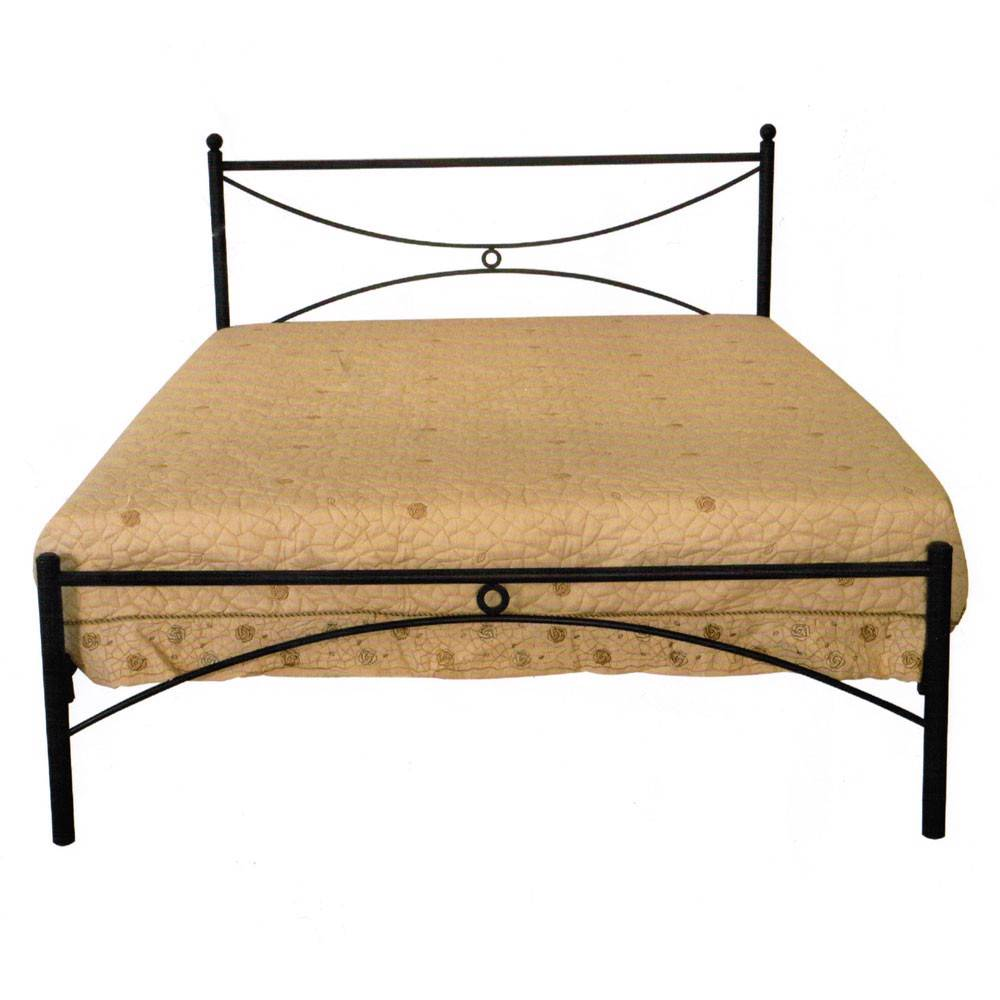 Brand New Modern Metal Bed Double Size In Black