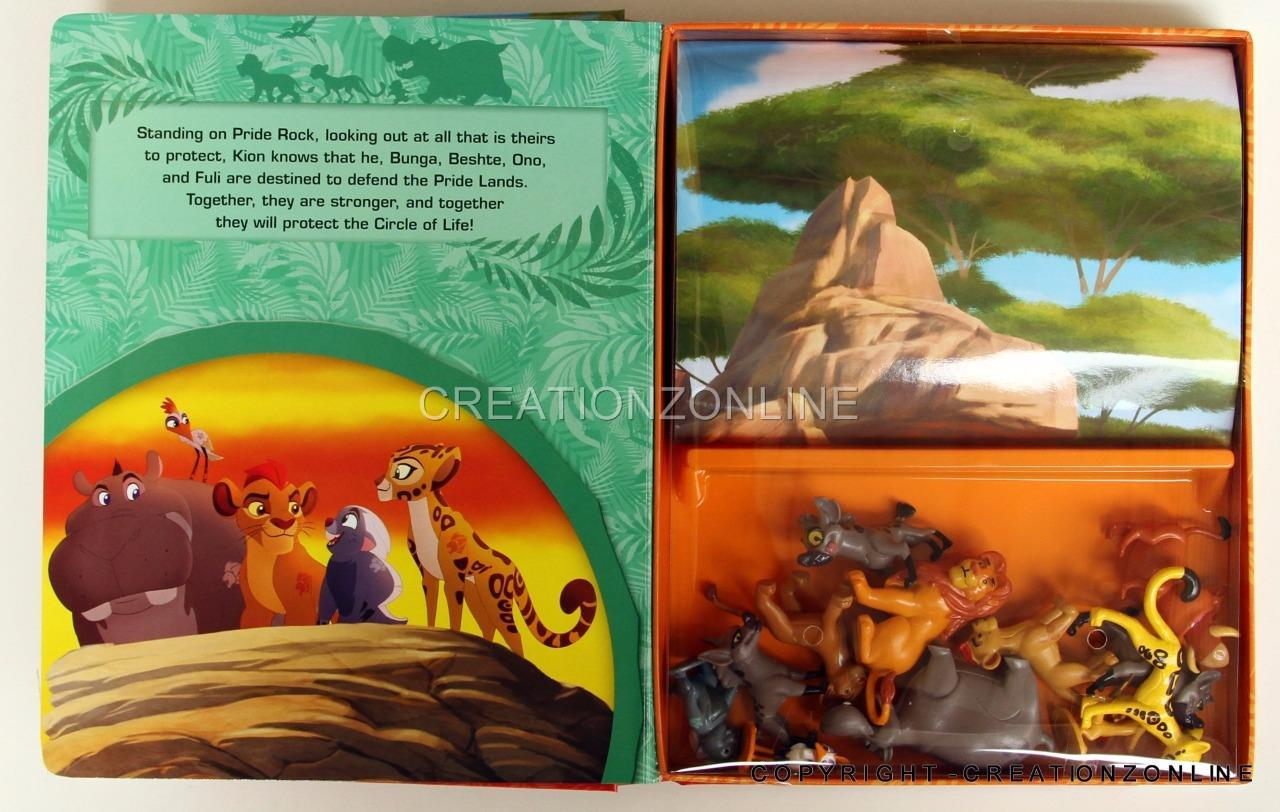 The Lion Guard My Busy Books 12 Figures Kids Books Childrens
