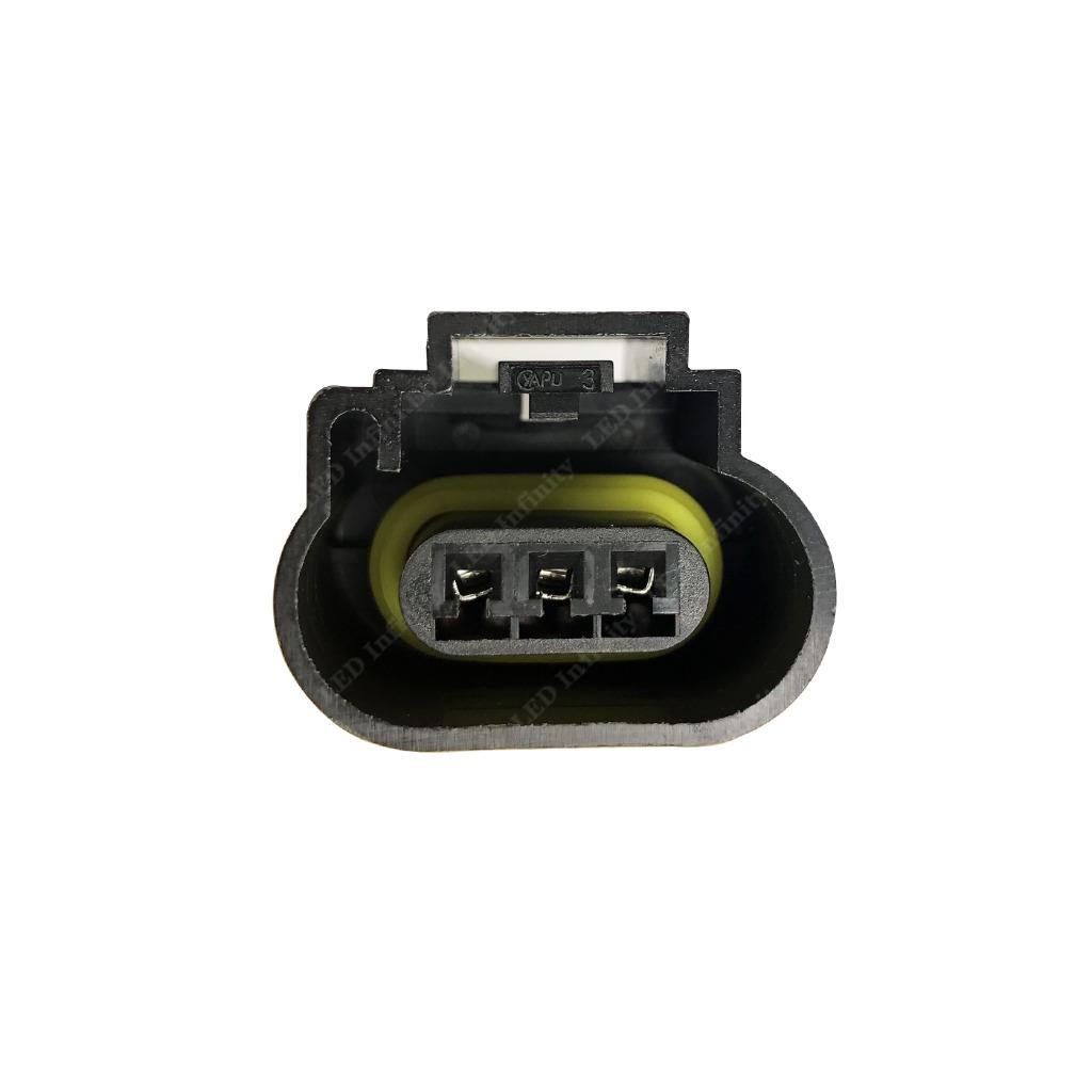 Details about H13 9008 Wiring Harness Plug LED Headlight Socket for on h13 bulb wiring, h13 connector diagram, h13 hid wiring, dodge oem parts diagram, project diagram,