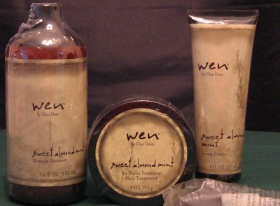 wen hair styling creme wen hair products 2 cleansers 1 styling creme 1 remoist 6594