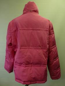 Womens Zx Zero Xposur Pink Puffer Down Coat Jacket Sz