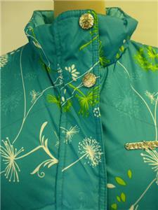 Womens Turquoise Zx Zeroxposur Zip Up Reversable Vest Coat