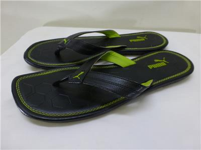37adc783d053a Puma Drifter Road IV flip flops thongs t strap split toe Sandals mens sz  10.5 11