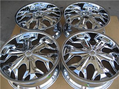 "Chevy Reaper Specs >> 20"" AKUZA REAPER 508 CHROME WHEELS RIMS DODGE CHARGER ..."