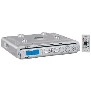 cd player for kitchen under cabinet the cabinet kitchen cd player w am fm radio silver 9384