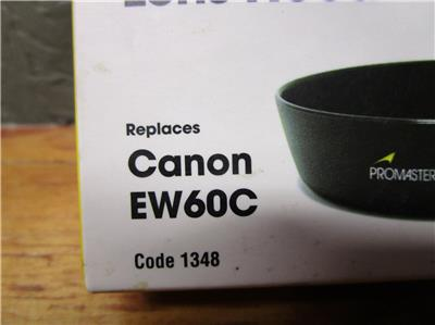 Promaster EW43 Replacement Lens Hood for Canon EF-M
