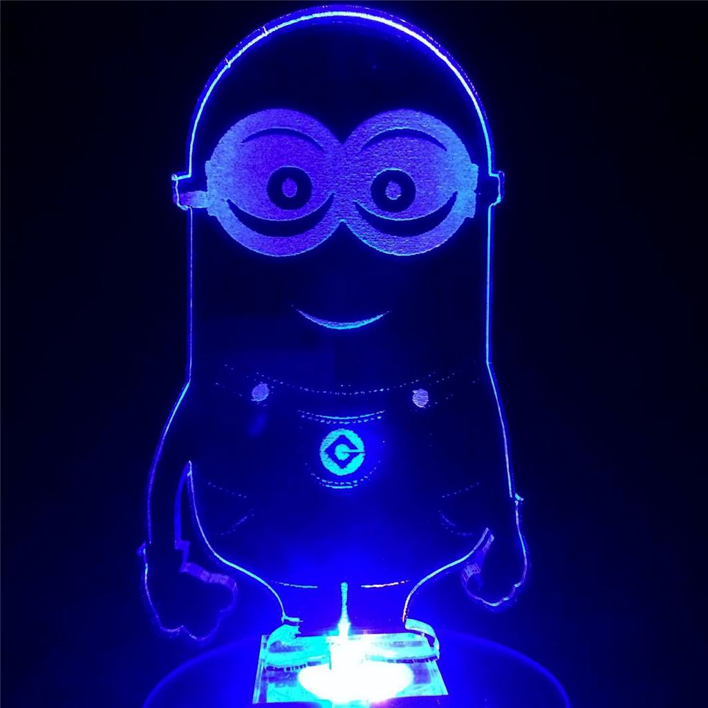 Minion Flashing Night Light Cool N Gift For Kids Room Ebay