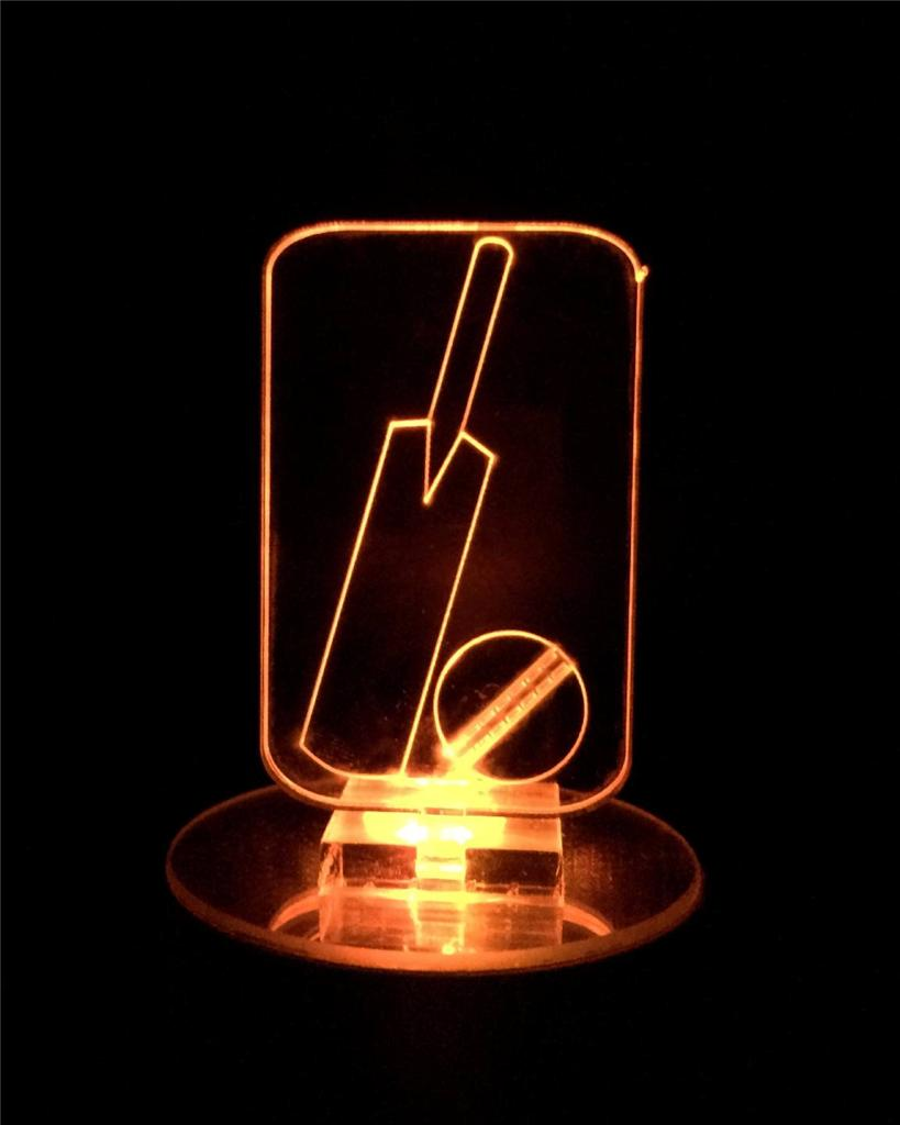 Cricket Flashing Night Light Small Sports Novelty Gift